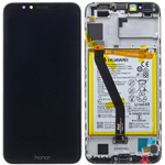 Genuine Huawei Honor 7A(7Apro) Lcd and Touchpad With Battery,speaker and side button in Black Part no:02351WDU