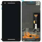 Genuine Google Pixel 2 lcd display and touchpad in Black - Part no: 83H90233-00