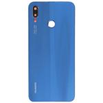 Genuine Huawei P20 Lite Back / Battery Cover - Blue - Part no: 02351VTV