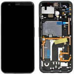 Genuine Google Pixel 4  Complete Lcd and Touchpad With Frame In Black  -Google Part no: 20GF2BW0001