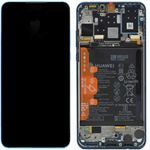 Genuine Huawei P30 Lite Peacock Blue LCD Screen & Digitizer with Battery - Part no: 02352RQA