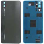 Genuine Huawei P20 Back Cover Black - Part no: 02351WKV