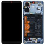 Genuine Huawei P30 Breathing Crystal LCD Screen & Digitizer with Battery - Part no: 02352NLP