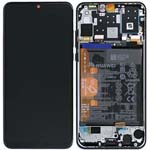 Genuine Huawei P30 Lite Lcd Screen and touchpad with battery Assembly in Black - Part no : 02352RPW