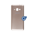 Samsung Galaxy J1 2016 SM-J120F Battery Cover in Gold