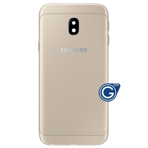 Samsung Galaxy J3 2017 J330 back cover housing in Gold
