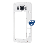 Samsung Galaxy J5 2016 SM-J510F Rear Chassis with Camera Cover in Black