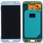 Genuine Samsung Galaxy J530, J5 (2017), J530F, J5 Pro (2017, J5 (2017) Duos Lcd and touchpad in Silver  P/N: GH97-20738B