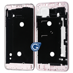 Samsung Galaxy J7 2016 SM-J710F LCD Frame Middle Chassis in Pink