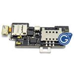 LG LU6200 Optimus LTE Sim card with memory card flex