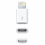 Genuine Apple Adaptor MD820ZM/A for Iphone 5, 5S, 5C - Bulk Packed