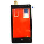 Genuine Microsoft Lumia 435  Front Cover with Touchscreen-Part no: 00813L3