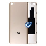 Xiaomi Mi 5 Battery Cover in Gold - High Quality
