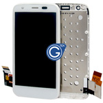 Motorola Moto G (XT1032) Complete LCD and Digitzer with Frame in White