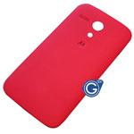 Motorola Moto G Battery Cover in Vivid Red