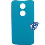 Motorola X+1 Battery Cover in cyan