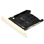 Genuine Nokia Lumia 720 Sim Card Tray (White)-Nokia part no: 0269C17