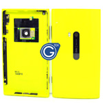Nokia Lumia 920 Back cover complete with small parts in Yellow