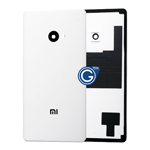 Xiaomi Note 2 Battery Cover in White - High Quality