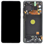 Genuine Samsung Galaxy Note 10 Lite (N770F) lcd Screen in black - Part no: GH82-22055A