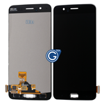 OnePlus 5 A5000 Complete LCD and Touchpad Assembly in Black