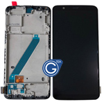 OnePlus 5T A5010 Complete LCD and Touchpad with Frame Assembly in Black