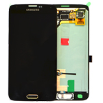 Genuine Samsung SM-G900F Galaxy S5 Lcd and digitizer in Gold - Samsung Part number: GH97-15734D, GH97-15959D