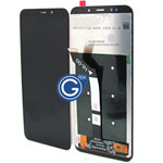 Redmi 5 Plus Complete LCD and Digitizer in Black-HQ