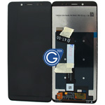 Redmi Note 5 Complete LCD and Digitizer in Black-HQ