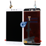Redmi 4X LCD with Touchpad Assembly in White - HQ