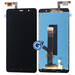 Redmi Note 3 LCD with Touchpad Assembly in Black - HQ