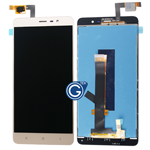 Redmi Note 3 LCD with Touchpad Assembly in Gold - HQ