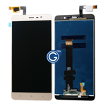 Redmi Note 3 Complete LCD with Touchpad in Gold - OEM