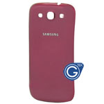 Samsung Galaxy S3 i9300 back cover red
