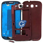 Samsung Galaxy S3 i9300 complete housing in red