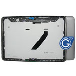 Samsung P5100 back cover with side button complete in grey