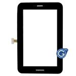 Samsung P6200 Galaxy Tab 7.0 Plus Digitizer Touchpad in Black