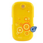 Samsung S3650 battery cover yellow