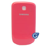 Samsung S3850 battery cover pink