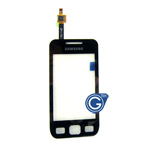Samsung Wave 525/S5250 Digitizer touchpad in Black