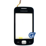 Samsung S5660 Galaxy Gio digitizer touchpad in Black