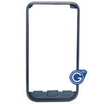 Samsung Galaxy S i9000 Chrome Frame Black