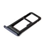 Genuine Samsung SM-G930F Galaxy S7 Black ASSY DECO-SIM TRAY SINGLE - Part number: GH98-39260A