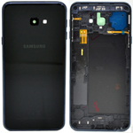 Genuine Samsung Galaxy J4+/J6+ (2018) SM-J415/SM-J610FN Battery Cover And Camera Lens In Black - Part no: GH82-18271A, GH82-18155A