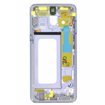 Genuine Samsung SM-A530 Galaxy A8 (2018) Front Cover In Grey - Part no : GH96-11295B