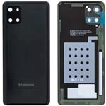Genuine Samsung Note 10 LITE Battery Cover In Aura Black - Part no: GH82-21972A