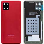 Genuine Samsung Note 10 Lite Battery Cover In Aura Red - Part no: GH82-21972C