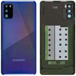 Genuine Samsung A41 SM-A415  Battery Cover In Blue - Part no: GH82-22585D