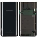 Genuine Samsung A80 SM-A805 Battery Cover In Black - Part no: GH82-20055A