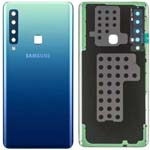 Genuine Samsung A9 A920 Battery Cover In Blue With Adhesive - Part no: GH82-18234B, GH82-18239B